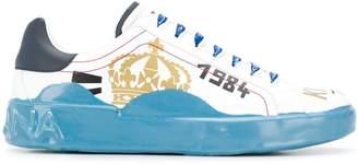 Dolce & Gabbana king print sneakers