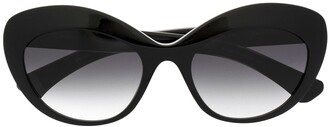 Christian Roth Cat-Eye Frame Sunglasses