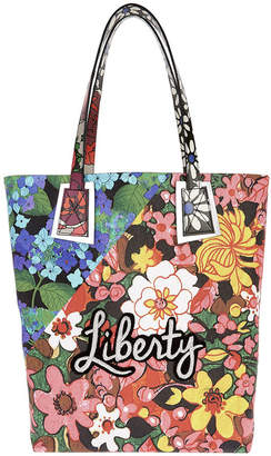 Dahlia Liberty London - Richard Quinn & Hydra Merton Tote Bag