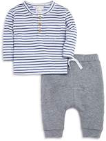 Bloomie's Boys' Striped Tee & Joggers Set, Baby - 100% Exclusive