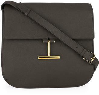 Tom Ford Tara Large Calf Grain Leather Shoulder Bag