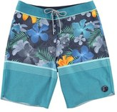 O'Neill Hyperfreak Blissful Thinking Stretch Board Shorts (Big Boys)