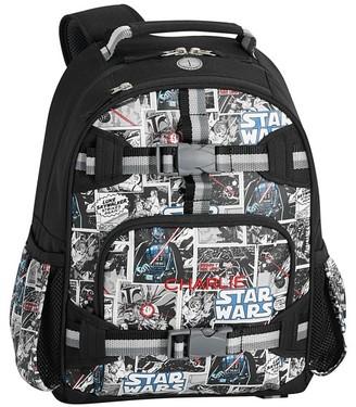 Pottery Barn Kids Mackenzie Star Wars Comics Glow-in-the-dark Backpacks