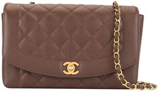Chanel Pre Owned 1994-1996 Diana quilted chain shoulder bag