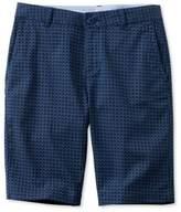 L.L. Bean Washed Chino Bermuda Shorts, Print