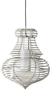East At Main East At Main's Danae Rattan Pendant Light
