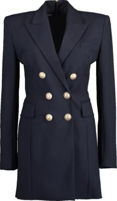 Balmain 6-Button Double Breasted Dress