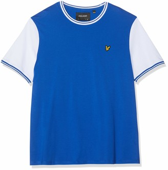 Lyle & Scott Men Tipped T-Shirt - XXL