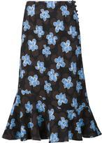 Suno floral print skirt - women - Polyester/Spandex/Elastane - 2
