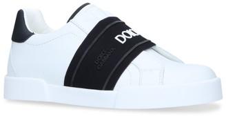 Dolce & Gabbana Kids Logo Elastic Sneakers