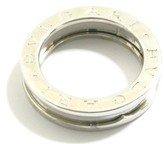Bulgari 18K White Gold B-zero1 Ring Size 5.5
