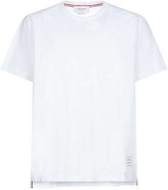 Thom Browne Side Splits Cotton T-shirt