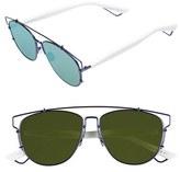Christian Dior Women's Technologic 57Mm Brow Bar Sunglasses - Black