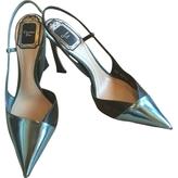 Christian Dior Turquoise Heels