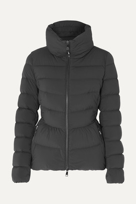 Moncler Quilted Shell Down Jacket - Charcoal