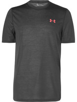 Under Armour Threadborne Mélange Jersey T-shirt - Charcoal