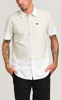 RVCA Men's Stop Start Short Sleeve Woven Shirt