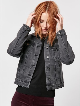 M&Co Black denim jacket