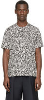 Christopher Kane Black and White Decay Print Shirt