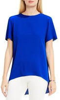 Vince Camuto Petite Women's High/low Blouse