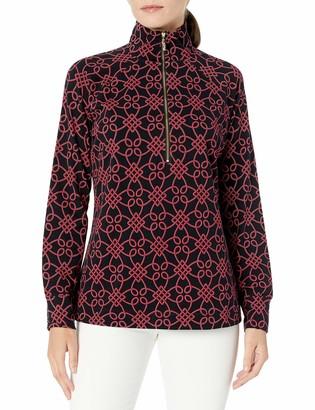 Pappagallo Women's Half Zip Pullover
