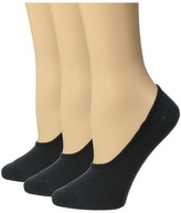 Sperry Canoe Liner Solid 3-Pack Women's No Show Socks Shoes