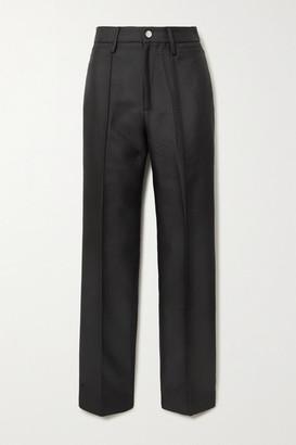 Rotate by Birger Christensen Robyn Jacquard Slim-leg Pants - Black
