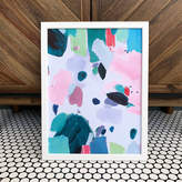 Mia Felce 'Dragonfruit' Colourful Abstract Art Print