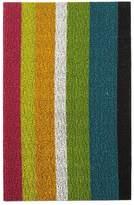 Chilewich Bold Stripe Indoor/Outdoor Shag Mat, 18 x 28