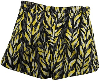 Balenciaga Yellow Shorts for Women