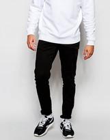 Antony Morato Black Jeans In Super Skinny Fit - Black