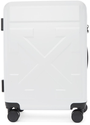 Off-White White Arrows Trolley Carry-On Suitcase