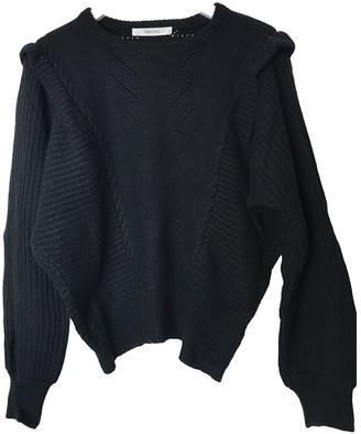 Gestuz Black Wool Knitwear
