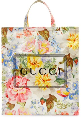 Gucci Medium print floral tote