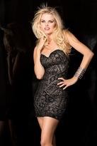 Scala 48540 Dress In Black/Nude