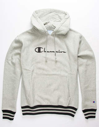 Champion Yarn Dye Trim Mens Hoodie