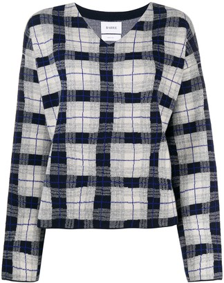 Barrie Psychedelic Tartan Pullover