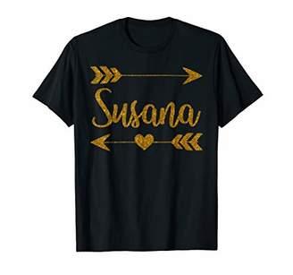 IDEA SUSANA Personalized Mom Name Funny Birthday Custom Gift T-Shirt