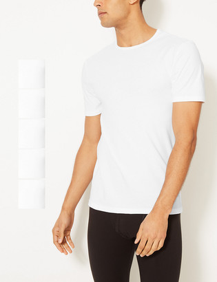Marks and Spencer 5 Pack Cool & Fresh T-Shirt Vests