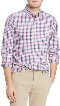 1901 Slim Fit Stripe Button-Down Shirt