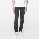 Paul Smith Men's Slim-Fit Garment-Dyed Slate Grey Jeans
