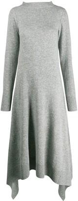 Sacai Asymmetric Hem Dress