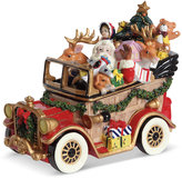 Fitz & Floyd Musical Santa Mobile Collectible Figurine