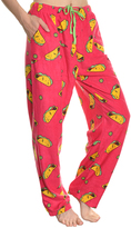 Angelina Taco Fleece Pajama Pants - Plus Too
