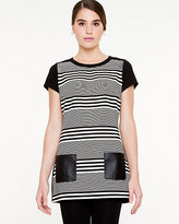 Le Château Stripe Short Sleeve Tunic
