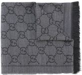 Gucci GG jacquard scarf - women - Wool - One Size