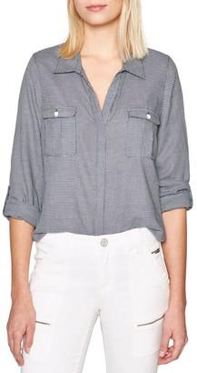 Joie Booker Mini Check Button-Down Shirt