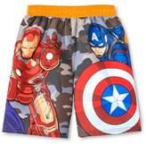 Marvel Toddler Boys' Avengers Swim Trunk - 4T