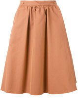 Societe Anonyme high waist skirt - women - Cotton - 40