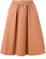 Societe Anonyme high waist skirt - women - Cotton - 42